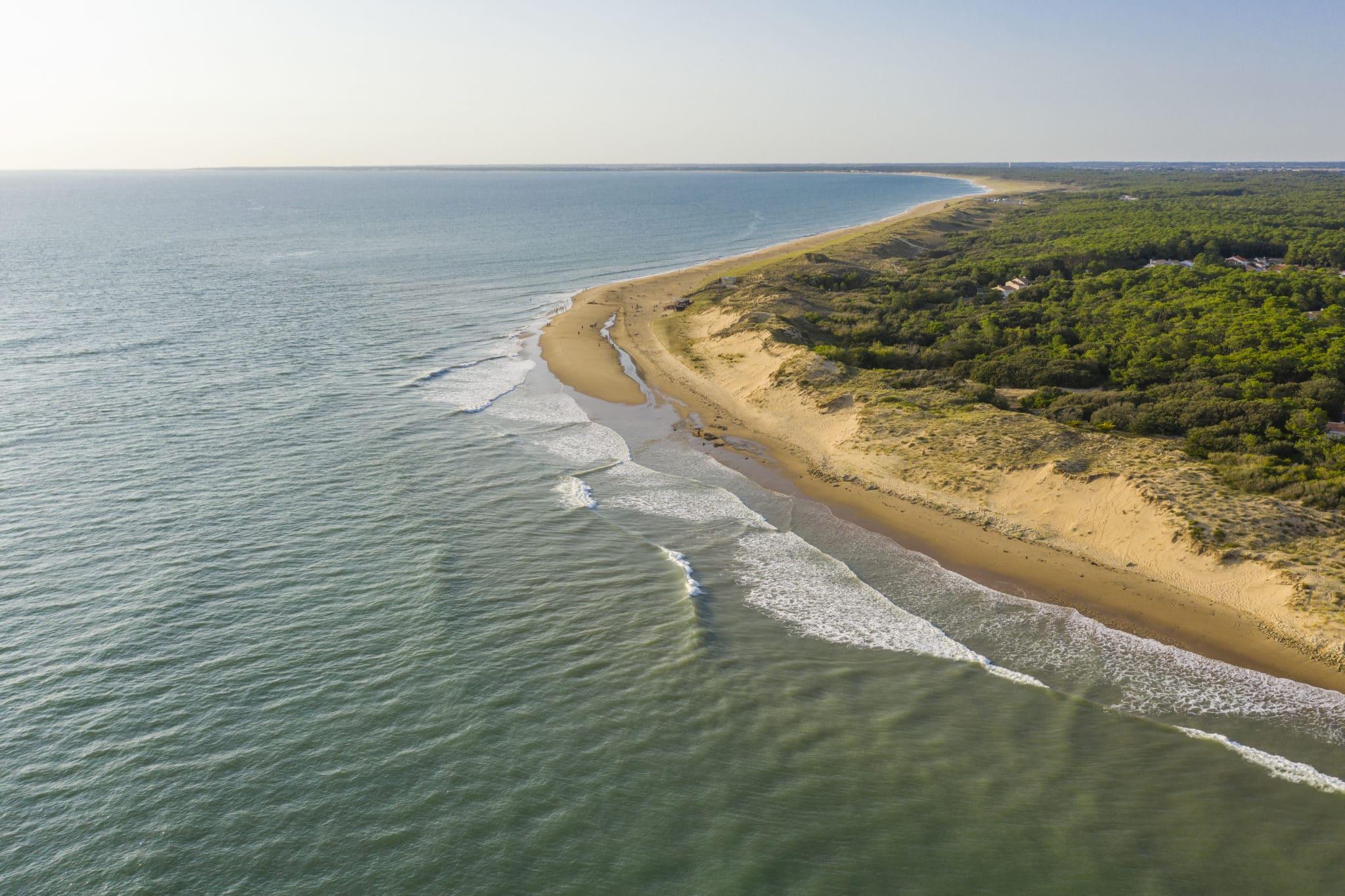 paysage plage de la Tranche sur Mer